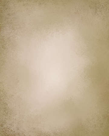 beige or light brown paper background with vintage grunge texture and highlight and old parchment look with copyspace