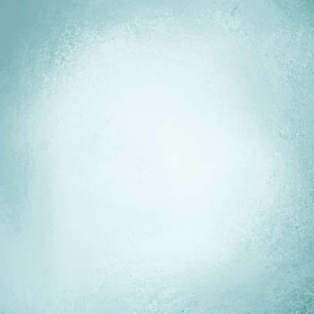 pale light blue background with white center photo