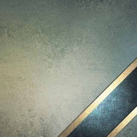 빈티지 grunge 텍스처와 파스텔 블루 배경 디자인과 골드 장식 프레임의 하단 모서리에 각이 어두운 블루 리본 레이아웃은 부활절 텍스트 copyspace와 트림