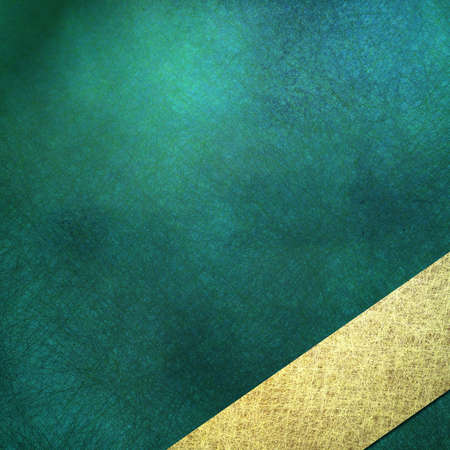 teal background: teal blue background, sign, or cover, with soft lighting, faint grunge scratch texture and shading, angled light gold stripe layout design