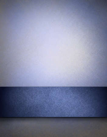 soft blue textured parchment background with highlight and dark blue strip for adding your own text or images photo