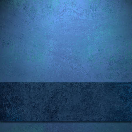 sapphire: elegant sapphire blue background with dark blue colored ribbon design layout with old antique grunge texture