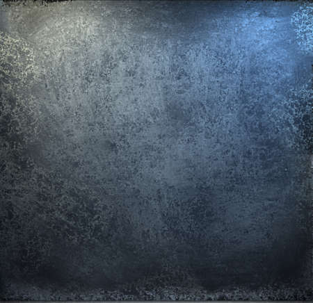 grunge blue and black background with soft lighting and burnt edges photo