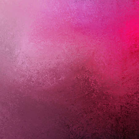 artsy pink paint color splash background illustration with dark and light contrast colors and black bottom border Stock Illustration - 13143364