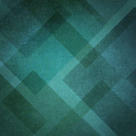 小ガモの緑と黒の青い背景の抽象的なデザイン レイアウト 写真素材 - 13167570