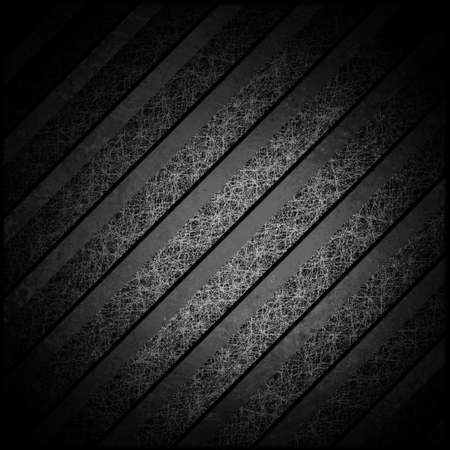 black background with vintage grunge texture stripes for monochrome or black and white background  photo