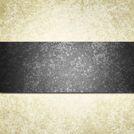 bröllop: formell vit bakgrund med svart band eller band och vintage grunge bakgrund konsistens, vitt papper och svart bakgrund för bröllop inbjudan eller elegant broschyr mallen design av gammalt papper look