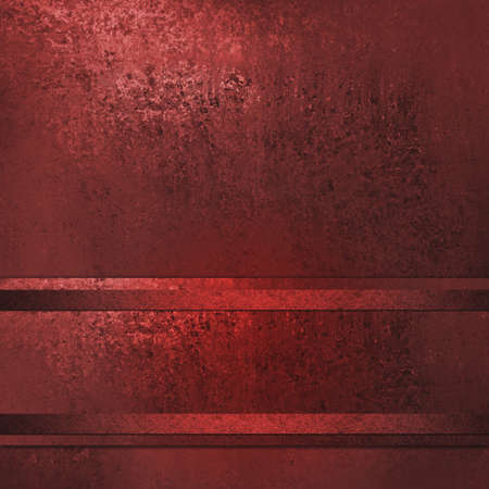abstract red background with stripes and ribbon on vintage grunge background texture of old red paper or rust red wall for website template background layout design or elegant background cover