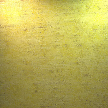 yellow background with vintage grunge texture photo