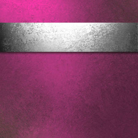 silver ribbon: purple pink background of antique silver ribbon illustration of old hammered vintage grunge background texture for ad brochure background website template, beautiful abstract background