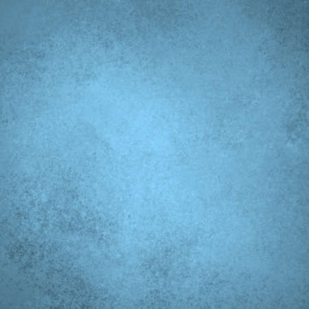 distressed texture: pale sky blue background with soft pastel vintage grunge background texture and light center spotlight for text or design on brochure or blue paper for baby boy birth announcement