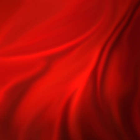 fabric: red background abstract cloth or liquid wave illustration of wavy folds of silk texture satin or velvet material or red luxurious Christmas background wallpaper design of elegant curves red material