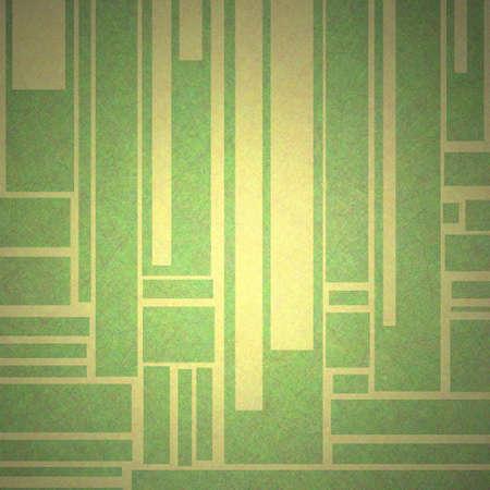 abstracte achtergrond in groen en geel Stockfoto
