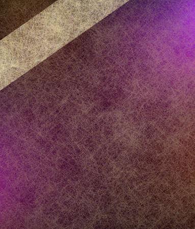 purple pink background, abstract romantic corner design stripe of white parchment ribbon Stock Photo - 13861977