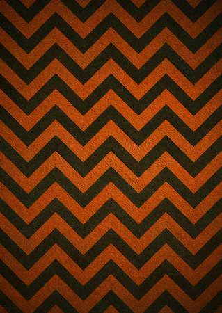 Retro orange Hintergrund der schwarzen Chevron Streifen, Grunge Hintergrund Textur-Design, abstrakten Hintergrund Papier, Halloween-Hintergrund Standard-Bild - 13949261