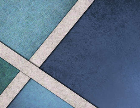 wall angle corner: blue abstract background