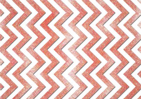 retro chevron background, red stripes on white background with old vintage grunge background texture photo