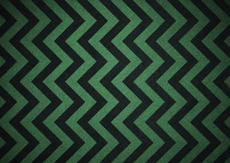 Retro green background of black chevron stripes photo