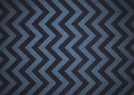 Retro blue background of black chevron stripes, background is patterned wallpaper and vintage grunge background texture design, old abstract background paper for brochure, bright colorful background photo