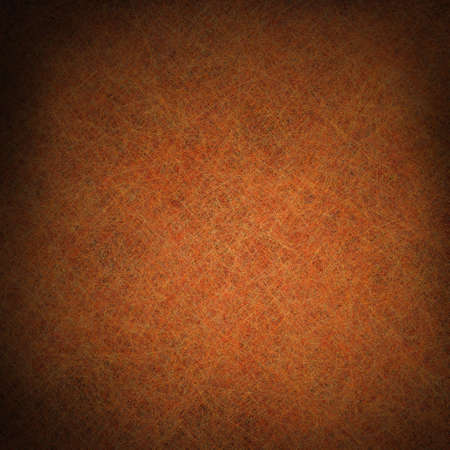 Orange-braun Hintergrund mit schwarzem Rand und Vignette vintage grunge Hintergrund Textur-Design Layout-, Herbst-Danksagung Hintergrundfarben, Halloween Hintergrund für Broschüre oder Zeichen Standard-Bild - 14187249