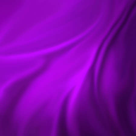 abstract purple background cloth or liquid wave illustration of wavy folds of silk texture satin or velvet material or purple luxurious background wallpaper design of elegant curves purple material Stock Illustration - 14674320