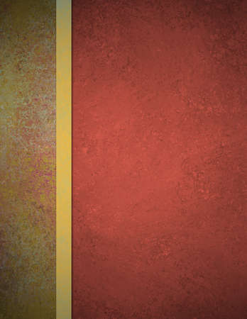 burgundy ribbon: red and gold formal background