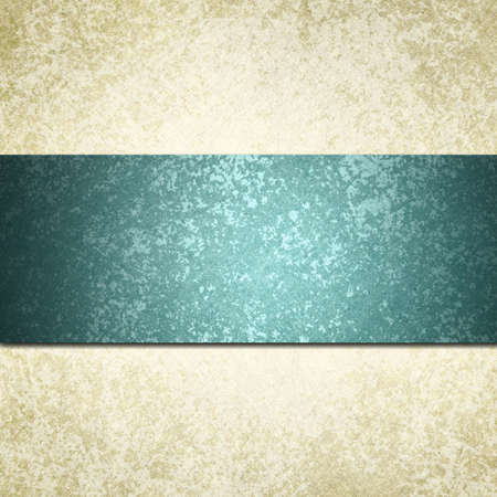white background with blue teal ribbon or stripe