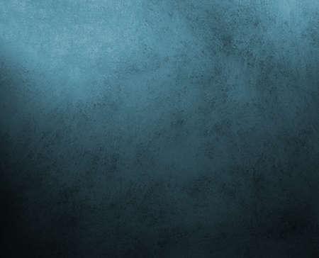 Schwarz blauem Hintergrund, dunkle Farben, mit Vintage Grunge-Hintergrund Textur, abstrakte Flecken und Verfärbungen rund Grenze, für elegante Broschüren, Luxus-Anzeigen, Website-Templates, Gästebuch Standard-Bild - 14674419