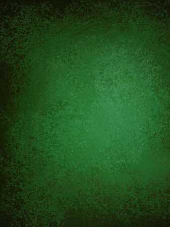 abstract green background with vintage grunge background texture and ribbon stripe design on elegant grungy dirty green brown wallpaper with blank copy space for ad or brochure, Christmas background Stock Photo