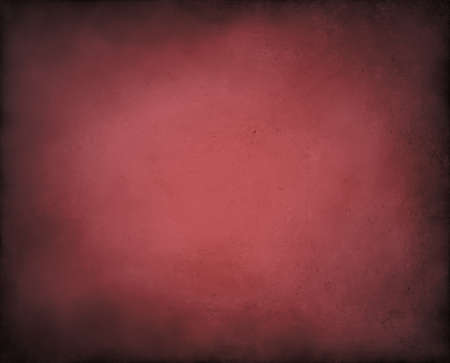 elegant abstract red background on pink burgundy center and soft black vintage grunge background texture design of vignette border, light pink red paper page, old background announcement or invitation Stock Photo - 14674430
