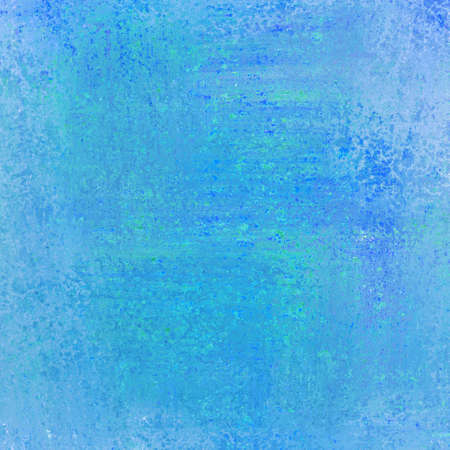 artsy: abstract blue background paper layout with rough messy old background vintage texture or wallpaper with light blue white sponge and country vintage background for website backgrounds or brochure ad Stock Photo