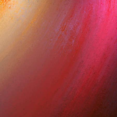 abstracte rode achtergrond ontwerp lay-out met vintage grunge achtergrond textuur verontrust strepen in golven, helder rood papier voor web template achtergrond of brochure achtergrond of cover van het boek oppervlak
