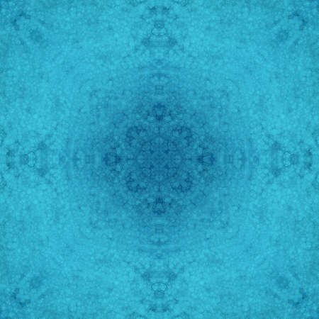 abstract blue background kaleidoscope pattern Stock Photo - 14793079