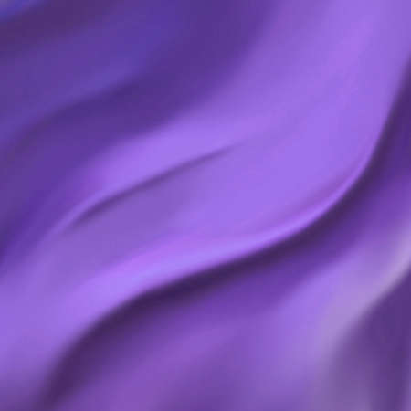 elegant purple background abstract cloth or liquid wave illustration wavy folds of silk texture satin or velvet material Stock Illustration - 14921361