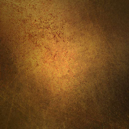 ad: grungy brown gold background with abstract vintage grunge background texture sponged and distressed for worn old faded background paper or parchment, use for retro brochure ad or antique web template
