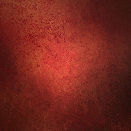 abstract red background with vintage grunge background texture design with elegant antique paint on wall illustration for Christmas paper, or web background templates, grungy old background paint  Stock Illustration - 15139290