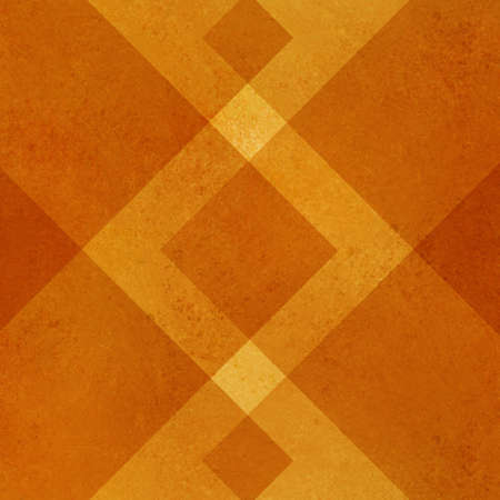 abstract orange background geometric design for fall autumn colored brochures or Thanksgiving backgrounds with classy shapes and lines forming wallpaper pattern has vintage grunge background texture
