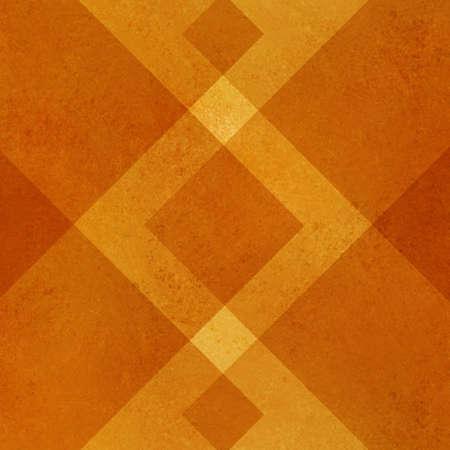 abstracte oranje achtergrond geometrisch ontwerp voor het najaar herfst gekleurde brochures of Thanksgiving achtergronden met stijlvolle vormen en lijnen vormen behang patroon heeft vintage grunge achtergrond textuur