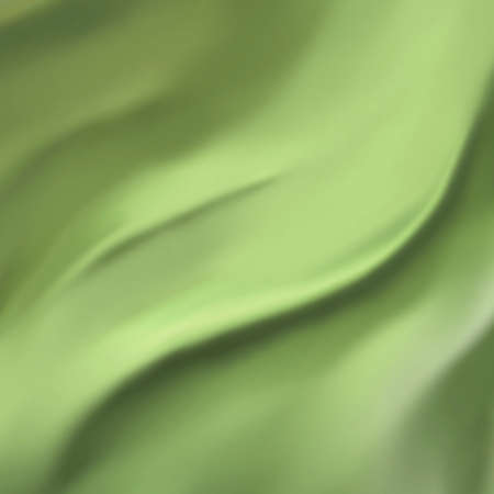 elegant green background abstract cloth or liquid wave illustration wavy folds of silk texture satin or velvet material or green Christmas background wallpaper design of elegant curves green material illustration