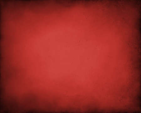 abstract red background with black vintage grunge background texture design of distressed dark gradient on border frame with red spotlight, red paper for brochure or Christmas background layout Stock Photo - 15139297