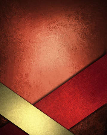 red gold background design layout or abstract Christmas background Reklamní fotografie