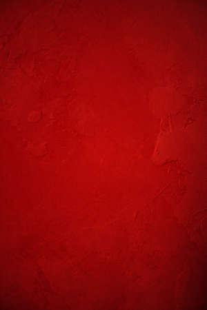 Abstracte rode achtergrond beschilderd gips muur met diepe vintage grunge achtergrond textuur lay-out ontwerp voor vakantie Kerst achtergrond of brochure advertentie of web template achtergrond kleur Stockfoto - 15139310