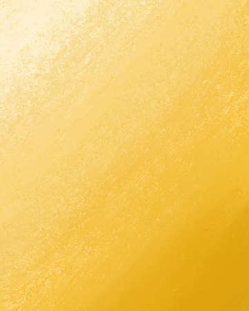 Astratto sfondo giallo con colori sfumati d'oro e d'epoca grunge di design struttura di layout Archivio Fotografico - 15308319