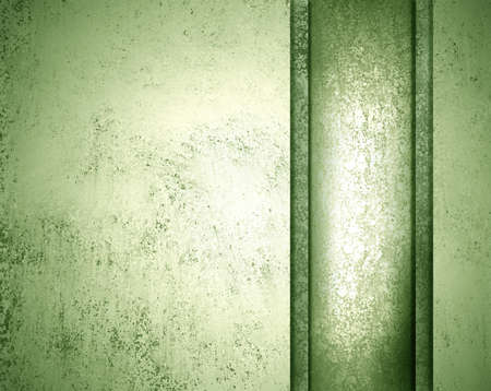 green background with white vintage grunge background texture for web layout design template or poster brochure ad Stock Photo