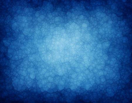 Fondo abstracto de color azul o azul con textura de papel vintage background grunge de la mancha vidrioso brillante centro y los bordes negros para folleto o plantilla de diseño web diseño de fondo Foto de archivo