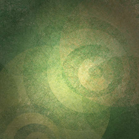 gold textured background: abstract green background Stock Photo