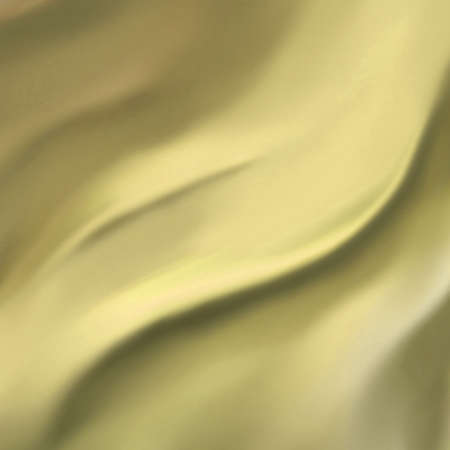 elegant gold background abstract cloth or liquid wave illustration of wavy folds of silk texture satin or velvet material or yellow luxurious background wallpaper design of pale curve gold material Stock Photo