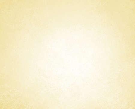 bleke gele achtergrond of witte achtergrond van vintage grunge achtergrond textuur perkament papier, abstracte gouden achtergrond van pastel kleur op wit papier doek linnen textuur, licht bruine achtergrond