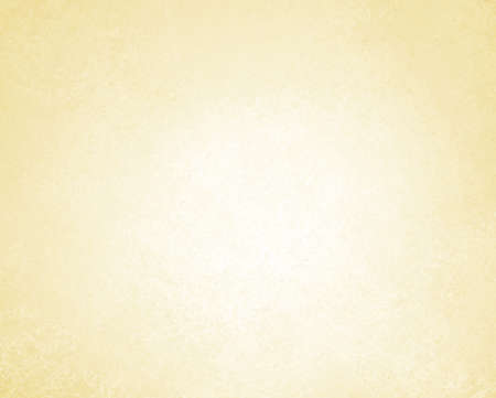pale yellow background or white background of vintage grunge background texture parchment paper, abstract gold background of pastel color on white paper canvas linen texture, light brown background Stock Photo - 15308250
