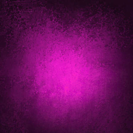 royal background: pink background or purple background of black border or frame on vintage grunge background texture design of center spotlight web template background or solid brochure layout background dark abstract  Stock Photo